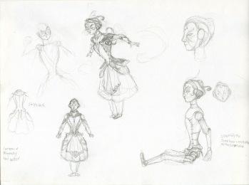 Vivandiere Sketches