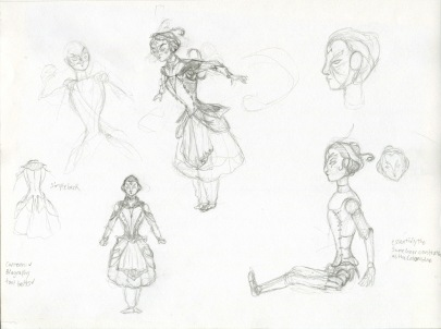 Vivandiere Sketches