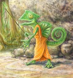 Chameleon Monk
